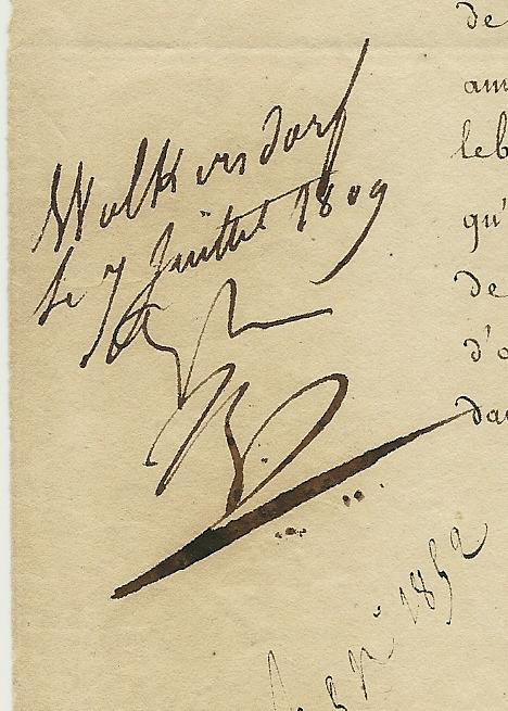 signer un autographe